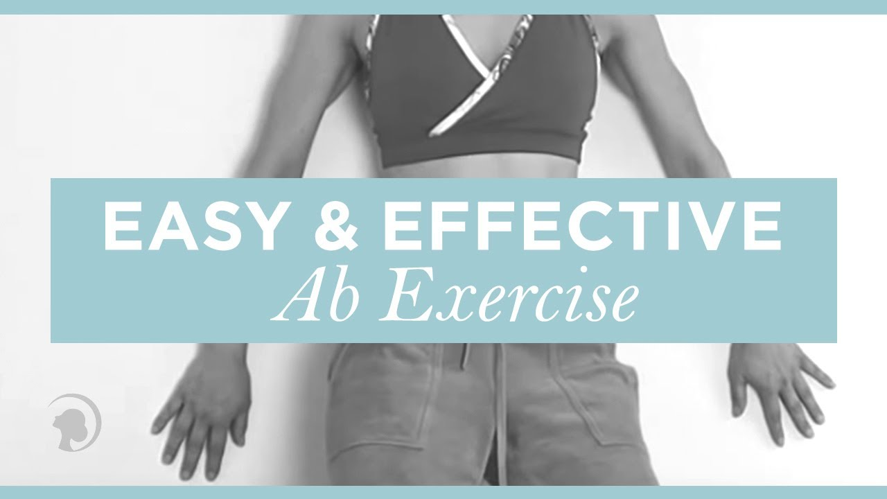 An Easy And Effective Ab Exercise Using Only A Wall Faceyogamethod