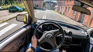 2000 Hyundai Atos II [1.0 I 58HP] |0-100 | POV Test Drive #871 Joe Black