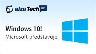 Microsoft představuje Windows 10! - AlzaTech #149