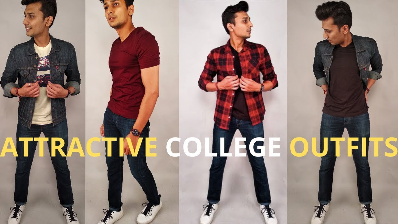[VIDEO] - What I wear in college? College OUTFIT Ideas for guys! 3