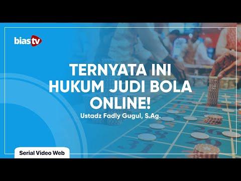 Judi Online: Hukum Judi Bola Online - Ustadz Fadly Gugul