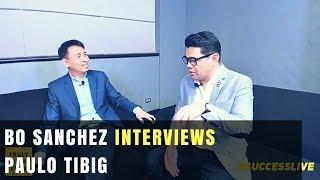 Bo Sanchez Interviews Paulo Tibig The Entrep Champ