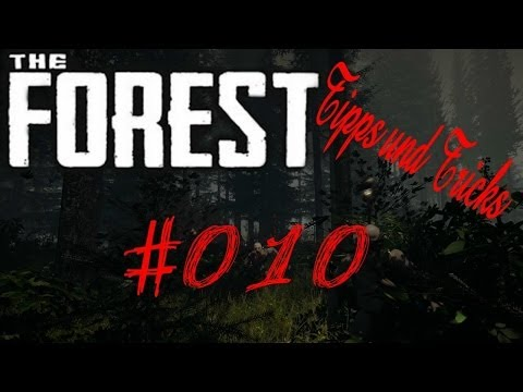 The Forest Tutorial Folge #010 - Beeren Im Garten Pflanzen !