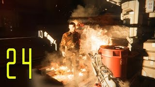 Alien: Isolation PC Gameplay Walkthrough Part 24 - DIE JOE!