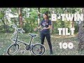 What's The Best Thing About Folding Bikes?   B Twin Tilt 100