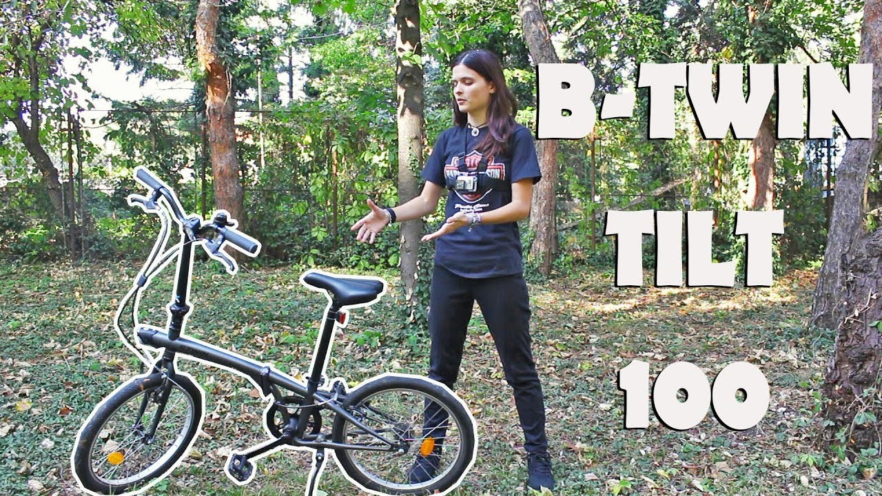 What's the best thing about folding bikes? - B-twin TILT 100
