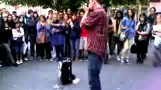 amazing dubstep and harmonica beatbox