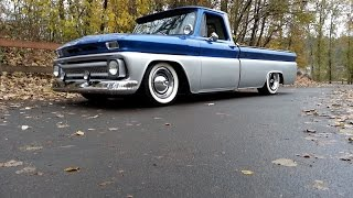 1965 Chevrolet C10 Lowered Bagged LWB For Sale