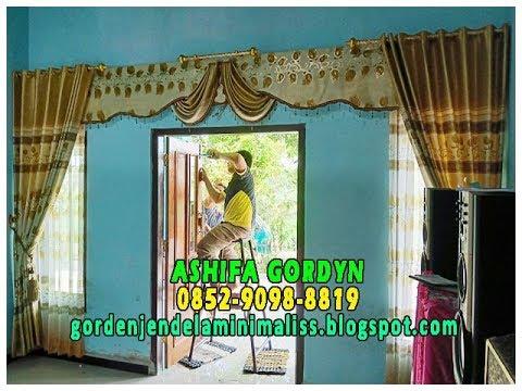 Model Gorden Pintu Kupu Tarung  model gorden terbaru 2019 dan harganya model gorden pintu kupu tarung 0852 9098 8819
