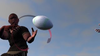 The physics behind a moving rugby ball | AFP Animé