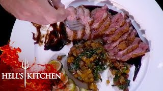 Sterling Reveals His Secret Ingredient | Hell's Kitchen