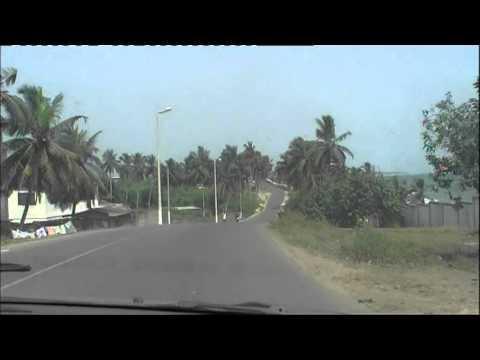 Driving From Elmina To Cape Coast (Central Region, Ghana) - January 2012