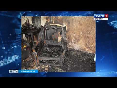 Три человека погибли в пожаре частного дома под Орском
