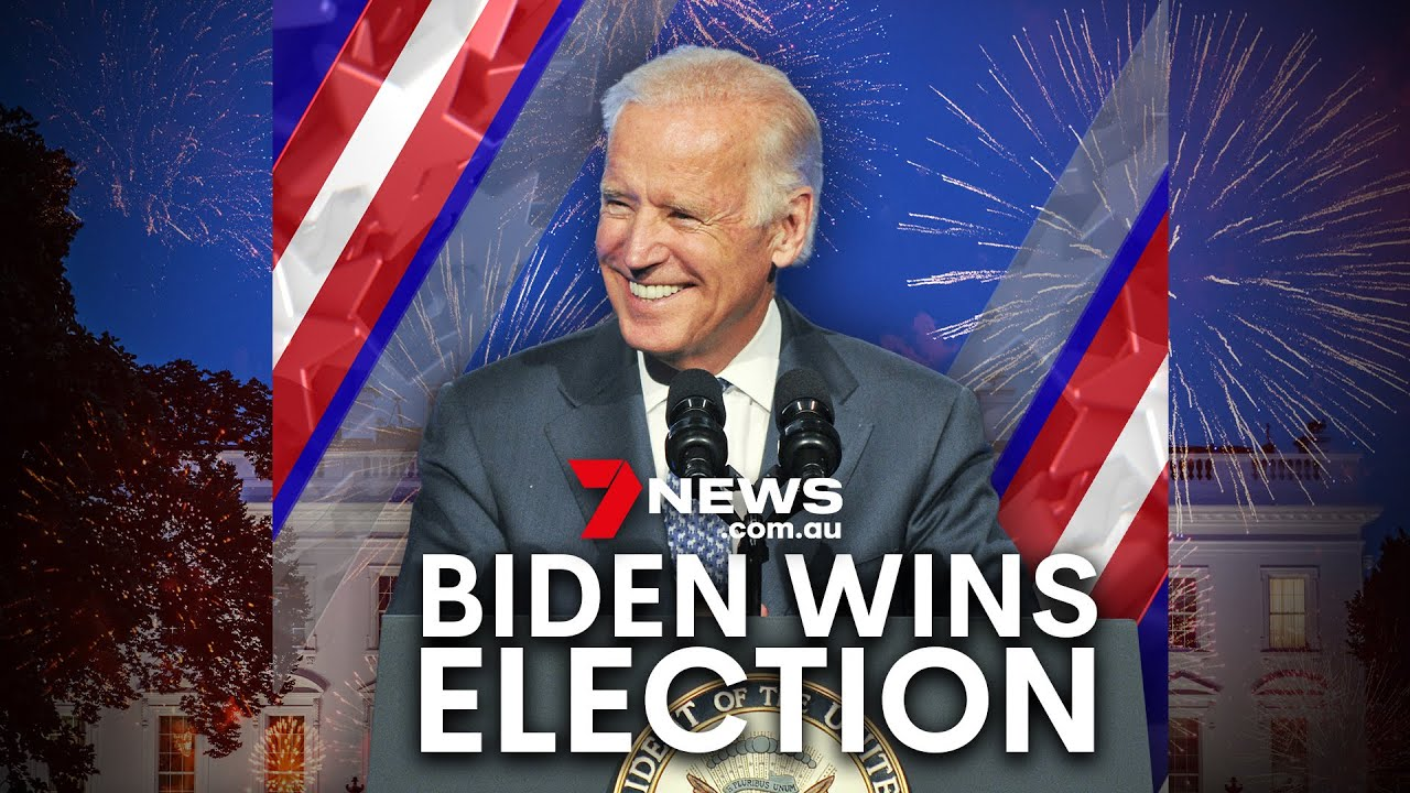 Joe Biden wins US Presidential Election, ousting Donald Trump from the White House | 7NEWS