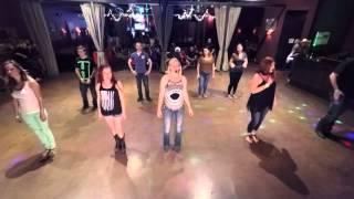 """The Macarena Slide"" Dance Lesson"