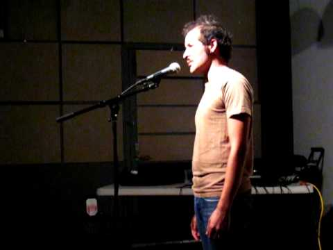 Seattle Poetry Slam - anis mojgani's
