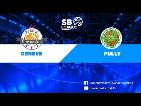 SB League Women - Day 12: Genève vs. Pully