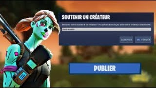 HOW to CREATE the CODE OF SA MAP Parckour, EL on FORTNITE CREATIVE!