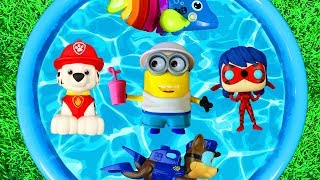 Colors and Characters with Pj Masks, Disney Princesses, Minions, Paw Patrol, Education Videos