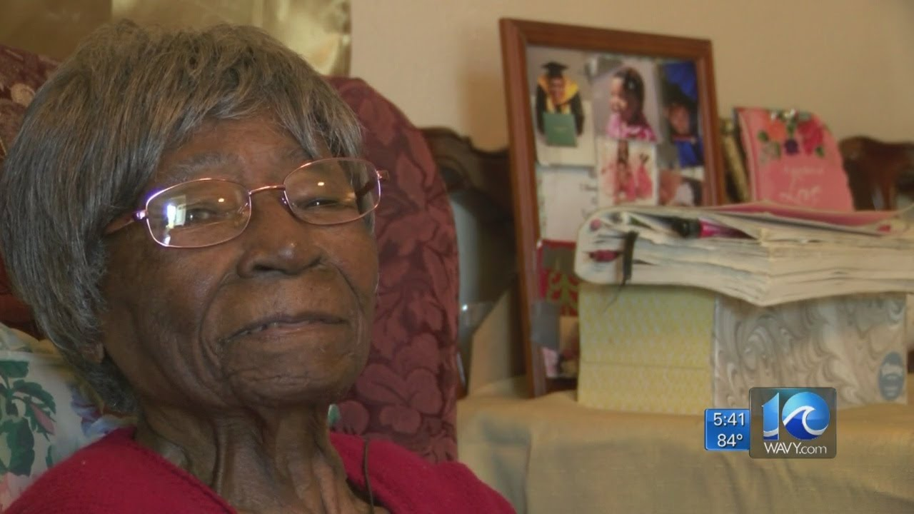 NORFOLK VIRIGINA AFRICAN AMERICAN HATTIE MAE LITLE IS TURNING 105