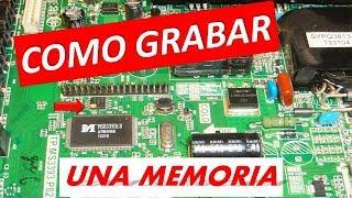 Como grabar una Memoria SPI