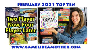 Game Like a Mother Top Ten February 2021: 2 Player Now, 4 Player Later