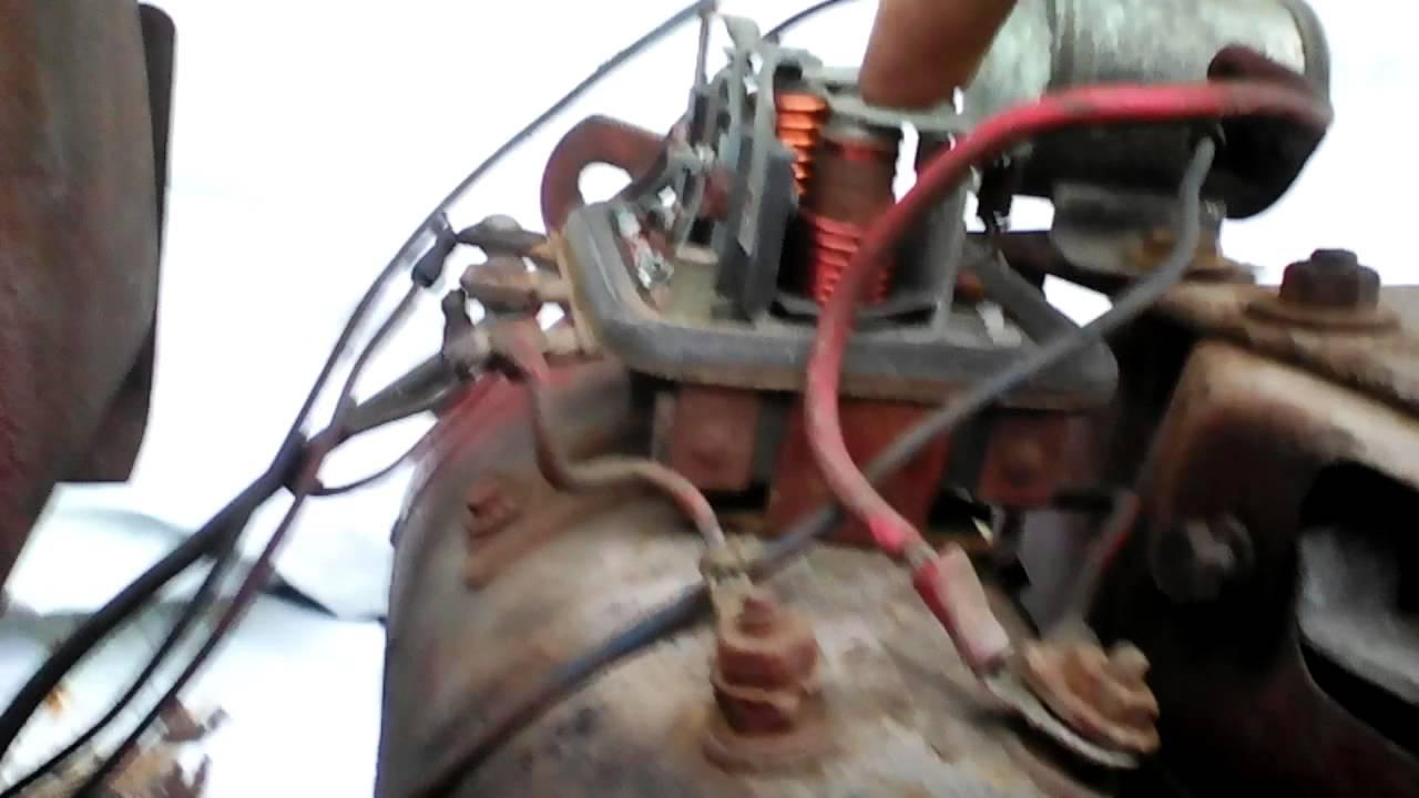 Wheel Horse Starter Generator Wiring 12 Volt Generator