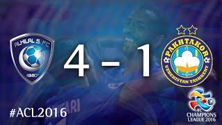 AL HILAL vs PAKHTAKOR: AFC Champions League 2016 (Group Stage) 2017 Video