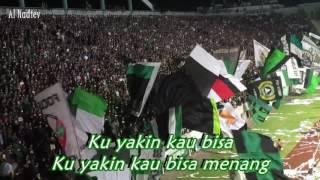 Brigata Curva Sud - Ku Yakin Kau Bisa (With Lyric) || PSS Sleman Vs Madura United (01-04-2017)