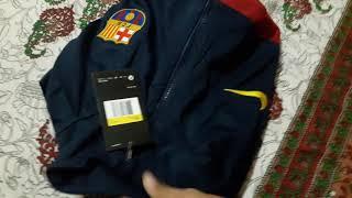 Fc barcelona jacket 2019/20 unboxing ...