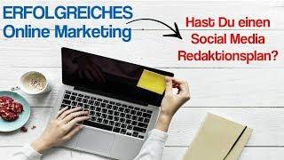 Erfolgreiches Online Marketing ᐅ Hast Du schon einen Social Media Redaktionsplan?