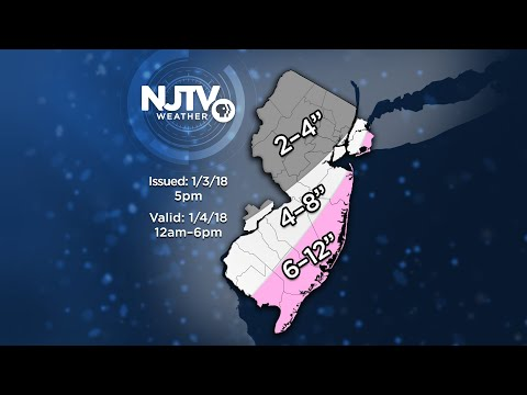 Parts of NJ under blizzard warning for powerful winter storm