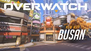 Busan | New Control Map | Overwatch (EU)