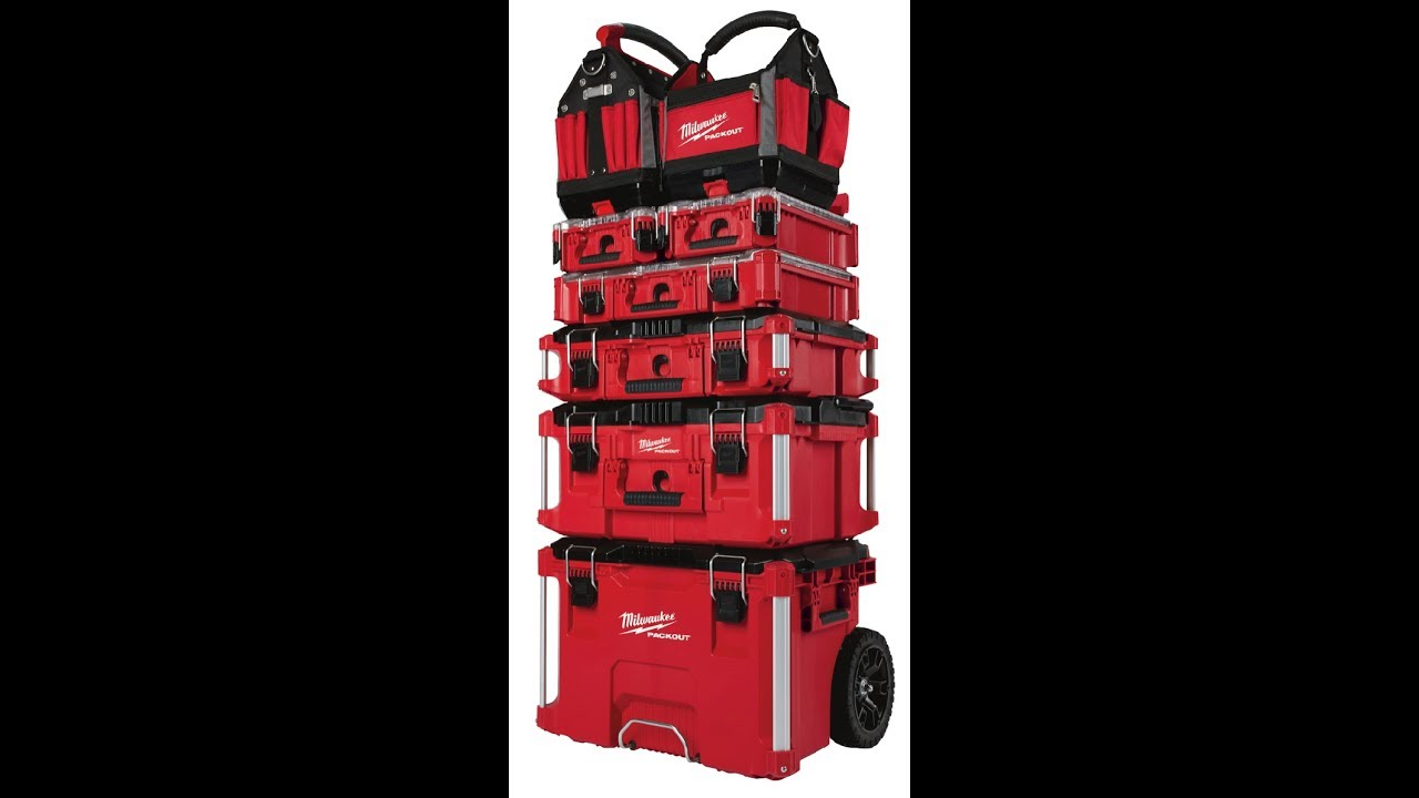 Milwaukee Packout Modular Tool Storage Organization And Transport System