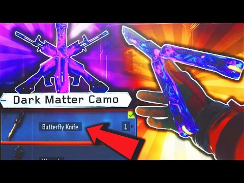 unlocking DARK MATTER on the first DLC WEAPON.. (Black Ops 3 DLC Weapons)