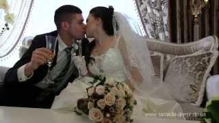 Видеосъемка фотограф на свадьбу  Днепр, Львов, Одесса, Киев -  Свадебный клип Любовь и шампанское