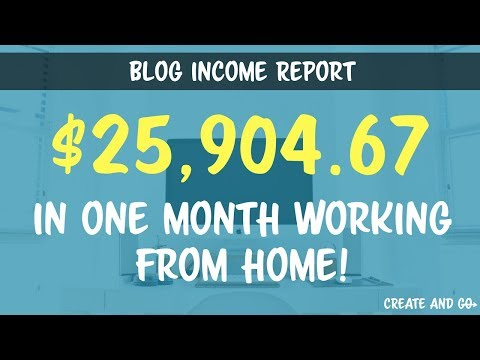 Blog Income Report July 2017 – How Our Health Blog/Channel Made $25,904.67 Last Month