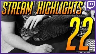 Stream Highlights 22 | Overwatch Casting, Rat Trap, and the Fat Boy