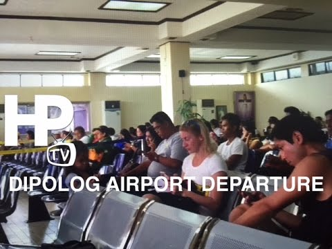 Dipolog Airport Departure Lounge Zamboanga del Norte by HourPhilippines.com