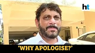 AIMIM's Waris Pathan refuses to apologise after controversial remark