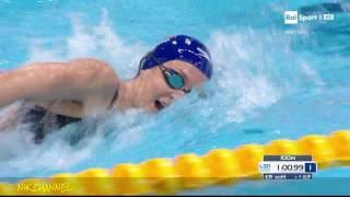 CARLI / QUADARELLA - Finale 800 mt. s.l. Europei di nuoto Londra 2016