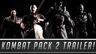 mortal kombat x kombat pack 2 offical trailer leatherface xenomorph bo rai cho sektor cyrax