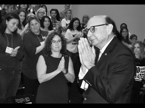 Khizr Khan speaks at ADL 'No Place for Hate' event in La Jolla