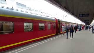 Петербург самостоятельно: поезд Москва - Санкт-Петербург.