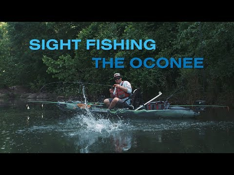 Kayak Fishing: Sight Fishing The Oconee - Hooked On Wild Waters S5 E4 Presented By Georgia Power