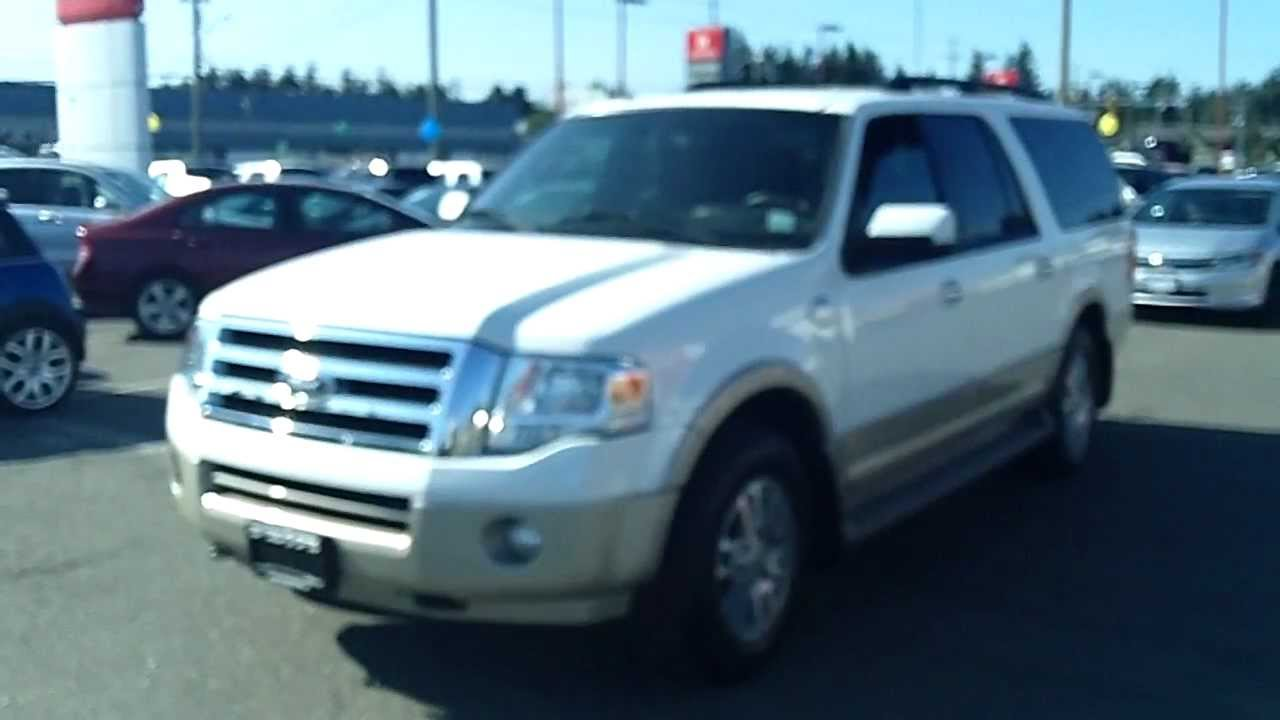 Sold  Ford Expedition Max King Ranch  Seater At Campbell River Honda Youtube