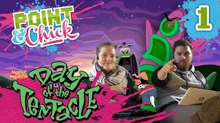 [1] Day Of The Tentacle mit Hauke und Isa | Point & Chick | 15.10.2015