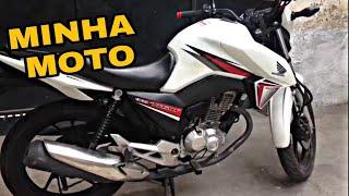 Mostrando um pouco da minha moto