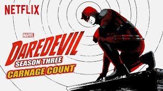 Daredevil Season Three (2018) Carnage Count
