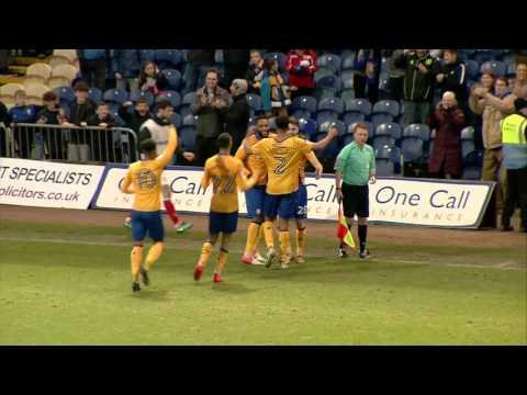 Mansfield v Crewe
